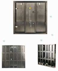 P7.62 led display cabinet aluminum profile LED cabinet