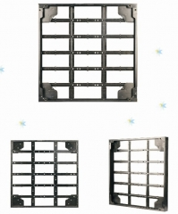 Simple design aluminum LED display cabinet for LED rental screen