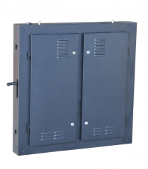 960*960*120MM outdoor iron cabinet /led outdoor cabinet