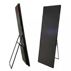 P2.5 P3 led poster screen cabinet with arcylic