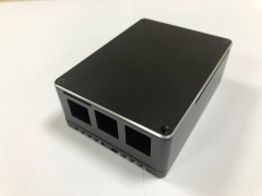 Raspberry Pi mini computer enclousres pc aluminum enclosure CNC machining aluminum enclosure